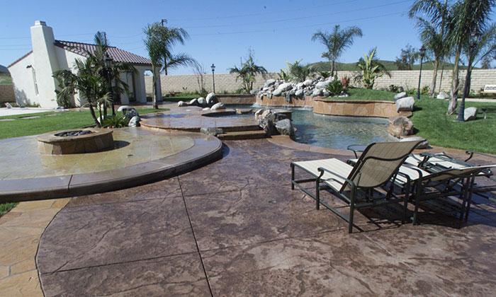 landscape outdoor living